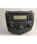 03-07 Honda Accord AM FM CD Player with Temp Controls OEM 39050 SDA A010 M1 - $244.99