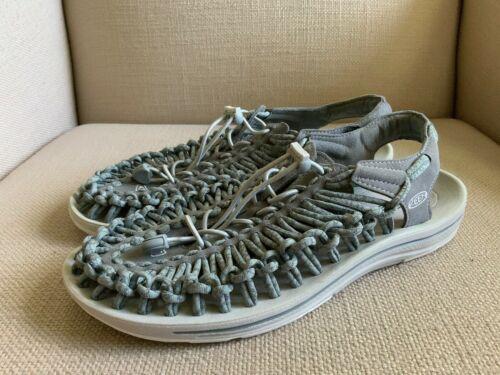 KEEN Uneek Gray Woven Slingback Sport Sandals Womens US 11 EUR 42 image 3