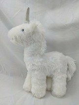 "Manhattan Toy White Unicorn Plush 11"" 2016 Stuffed Animal Toy - $9.95"
