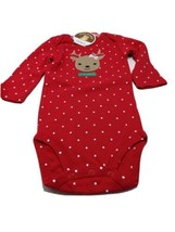 My First Christmas Reindeer Outfit Child of mine Christmas Girls 6-9 months - $14.84