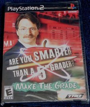 Are You Smarter Than a 5th Grader? Make the Grade! (PlayStation 2, 2008) - NEW - $12.86