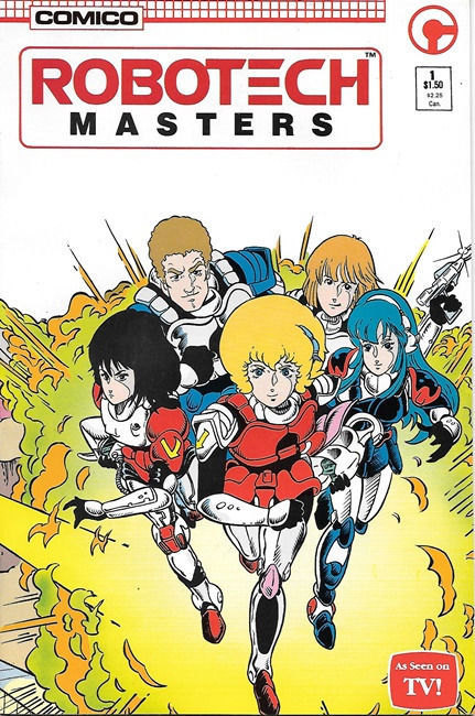 Primary image for Robotech Masters Comic Book #1, Comico 1985 NEW UNREAD VERY FINE+