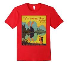Yosemite National Park Southern Pacific Hiking T-Shirt Tee Men - $17.95+