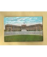 Vintage Tinted Color Post Card,  EL PASO HIGH SCHOOL, TEXAS - $7.50