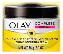 Olay Complete All Day UV Moisture Cream, Normal SPF 15-2 oz - $12.19