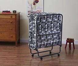 Rollaway Bed Frame Mattress Roll Away Beds Guest Sleeping Cot Folding Sl... - $119.03