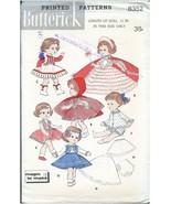 "Butterick Sewing Pattern 8352 UNCUT Fairy Princess Red Riding Hood 11"" O... - $26.99"
