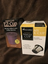 Perfect Pod EZ Cup for Single Serve Coffeemakers & Keurig Reusable Coffee Filter - $14.99