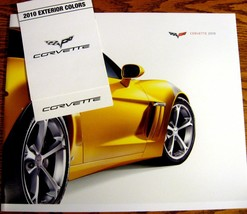 2010 Corvette Prestige Brochure & Color Paint & Trim Folder,  Z06 LS7  MINT - $24.91