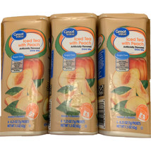 Great Value Iced Tea with Peach Drink Mix Pitcher Packets Sugar Free - $18.61