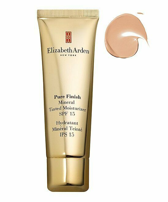 Primary image for NEW Elizabeth Arden Pure Finish Mineral Tinted Moisturizer SPF 15 1.7oz Fair 01