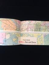 Vintage 80s Mobil Travel Map of Minnesota image 3
