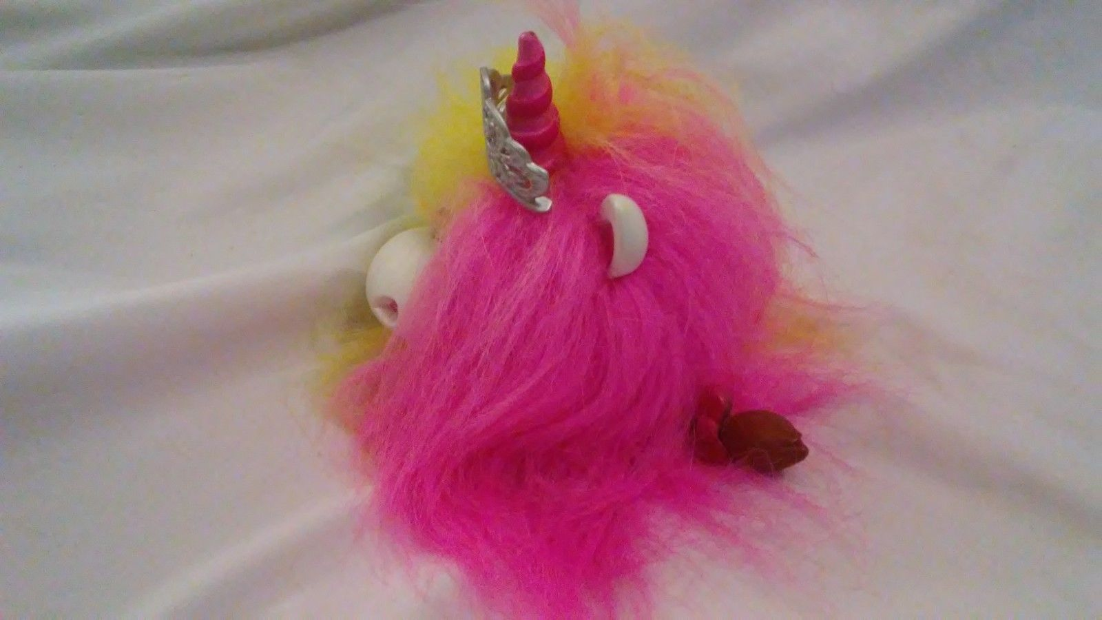 Kachooz! Princess Unicorn Talking Fluff with Cute Tail - Tested and Works