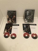 Resident Evil & Zero Nintendo GameCube 2002 cib complete lot Black Label - $26.59
