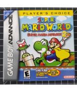Super Mario World Super Mario Advance 2 Gameboy Advance gba video game - $74.99