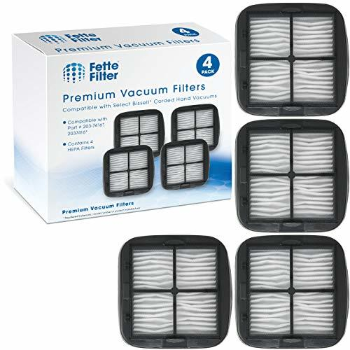 Fette Filter Vacuum Filter Compatible with Bissell 97D5. Compare 203-7416, 20374