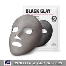 [ SO NATURAL ] Design Deep Black Clay Mask (3 Sheets) +Free Sample+ - $17.31