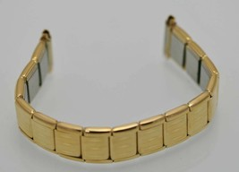 Fossil Unisex Stainless Gold Stretch Replacement Watch Band 16 mm Collar... - $9.36