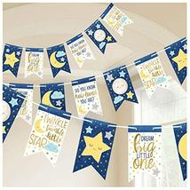 Starry Night Pennant Banner - 1 pc - $8.86
