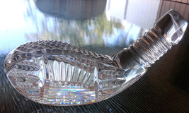 Vintage Waterford Merv Griffin's RESORTS A.C. Golf Club Head Crystal Paperweight - $40.00