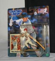 MARK McGwire * Hasbro STARTING LINEUP Sport Stars Figurine Baseball 2000 - $8.42