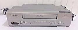 Vtg EMERSON EWV404 VCR 4Head VHS Video Cassette Recorder Player w/Cord N... - $38.21