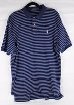 Polo By Ralph Lauren Hombre Deporte Polo Algodón de Rayas Azules Clásico... - $18.36