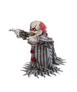 "Halloween decor prop animated laughing jumping clown 18"" (a) - $346.49"