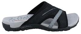 Merrell Women's Terran Slide II Sandal, Black, 8 M US - $69.11