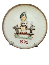 M.J. Hummel 22nd Edition Plate Vintage Handcrafted Collectors Plate 1992 - $35.62