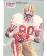 Jerry Rice ~ 1991 Pro Set #379 ~ 49ers - $0.05