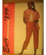 UNCUT Pattern 1992 EASY McCall SIZE 10 12 14 16 18 20 22 24 PANTS Top 5917 [Z25] - $3.99