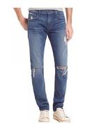 7 For All Mankind Men's Slimmy Slim Straight Leg Jeans BNDT Denim $228 m... - $79.90