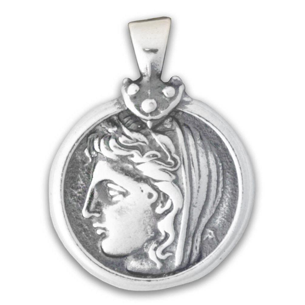 0030 goddess demeter coin pendant culturetaste 8