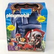 NIB Playmobil #4776 Take Along Pirate Dungeon Cannon Skeleton Captain Skull - $40.58