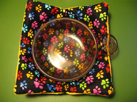 Bowl Cozy, Hot Pad, Cold Pad, Microwave Safe, M... - $5.00