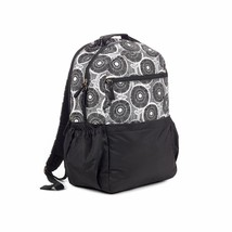 Brand New Studio C Hello Dahlia Black & White Floral Backpack 51251292 image 1
