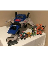 Fisher Price Rescue Heroes Robotz Hyper Jet Headquarters Command Center ... - $114.99