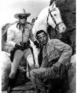 Clayton Moore The Lone Ranger and Tonto 8x10 Photo 003 - $14.00