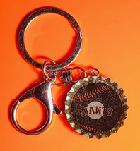 NY New York Giants Coke Sprite Diet pepsi & more Soda beer cap Keychain image 2