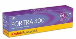 Kodak Professional Portra 400 Color Negative Film 35mm Roll Film 36 Exp 5/pack - $55.34