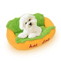 NACOCO Hot Dog Bed Pet Sofa Beds Cat Kennel Washable and Removable Dog H... - $35.63