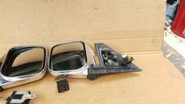 97-02 Mitsubishi Montero Pajero Sport JDM Chrome Heated Power Fold Mirrors L&R image 9