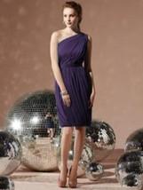 Dessy 8117...One shoulder, Cocktail length, Chiffon dress.....Concord...... - €42,70 EUR