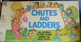 Chutes and Ladders Board Game 1979 Vintage- Milton Bradley -Complete - $15.00
