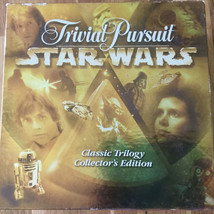 Star Wars Classic Trilogy Collector Edition Trivial Pursuit Game, 1997 - $23.76