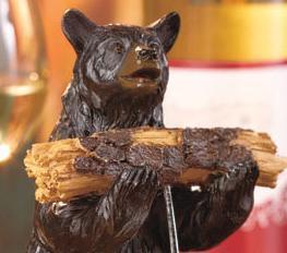 2-Pc. Rustic Bear Corkscrew Set