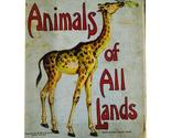 Books   animals of all lands thumb155 crop