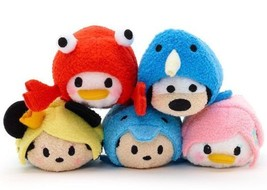 Disney Store Tsum Vie Marine Lot de 5 Minnie Mickey Donald Marguerite Dingo - $50.26