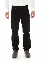 Armani Jeans Aj Mens Vita Alta Pants 33 Black - $128.25